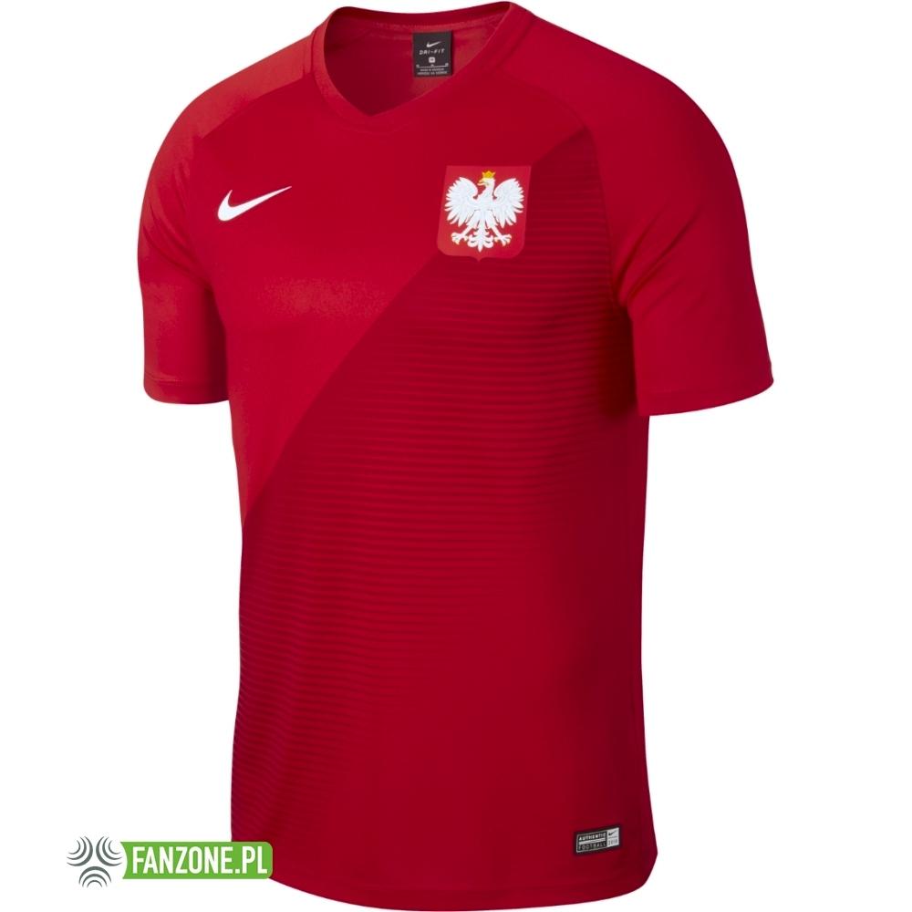 Polska replika nowej koszulki reprezentacji Polski 2018 2019 czerwona (NIKE)
