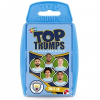 Manchester City - gra Top Trumps