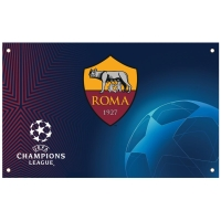 AS Roma - flaga Champions League