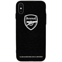 Arsenal Londyn - etui aluminiowe iPhone X