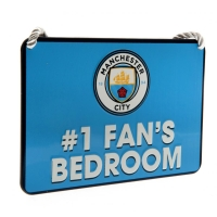 Manchester City - znak metalowy