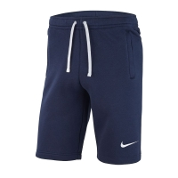 Spodenki juniorskie  Nike JR Team Club 19 Fleece shorty rozmiar XL (164 cm) granatowe