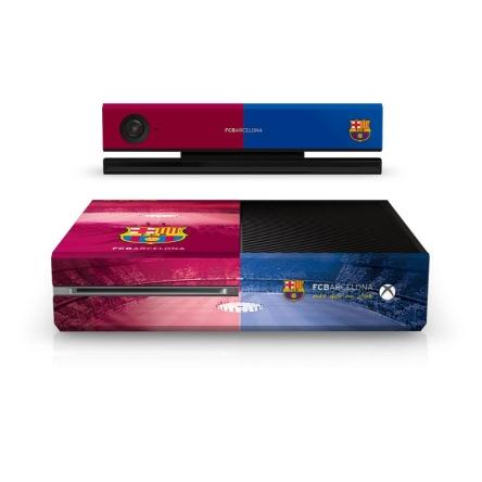 3faaf98c2 FC Barcelona - skórka na konsolę Xbox One - gadżety - sklep Fanzone.pl