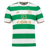 CELTIC GLASGOW - KOSZULKA 2017/18, DOM (NEW BALANCE)