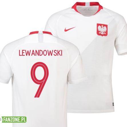 252d24213 Koszulka Polski LEWANDOWSKI 9 Nike 2018-19 Polska