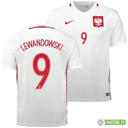 aee6d471fa97 Polska - koszulka reprezentacji LEWANDOWSKI 9 (NIKE) - gadżety ...