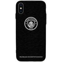 Manchester City - etui aluminiowe iPhone X