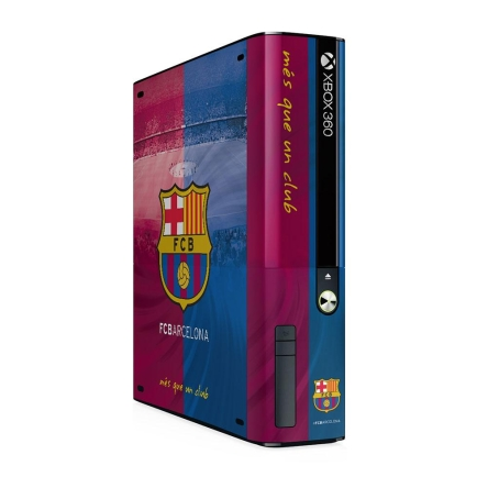 0e317a087 FC Barcelona - skórka na konsolę XBOX 360 E GO - gadżety - sklep ...