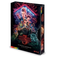 Stranger Things - notatnik VHS